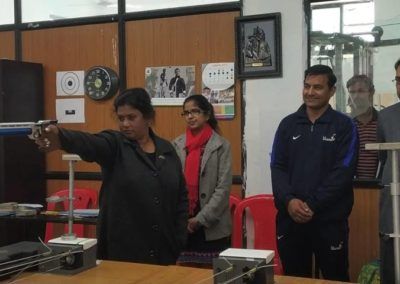 Rifle Shooting Competition