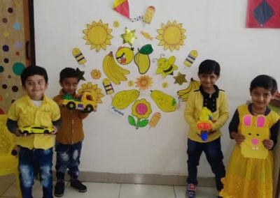 Yellow Day Celebration at Montessori